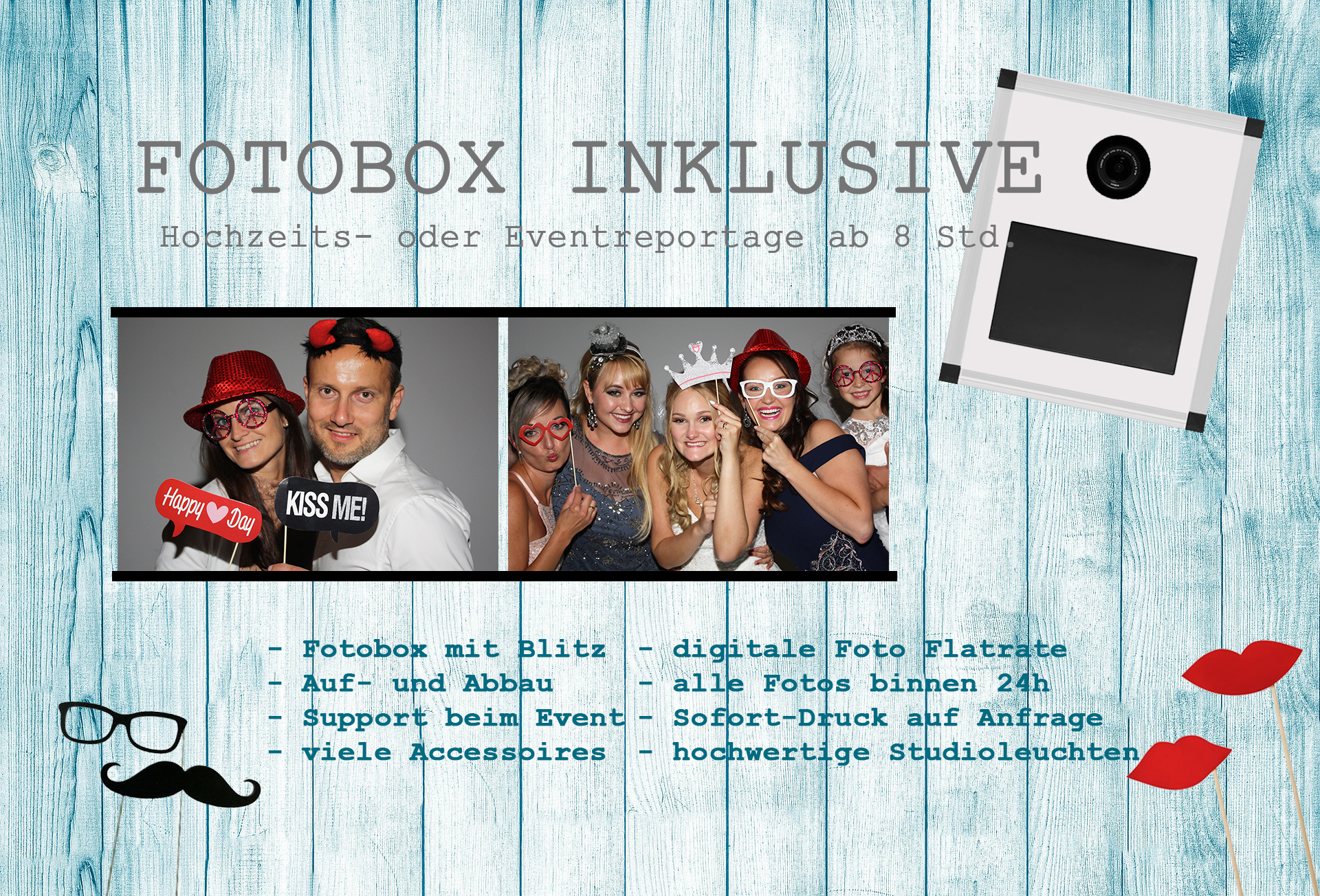 Fotobox Garmisch Partenirchen Murnau Staffelsee