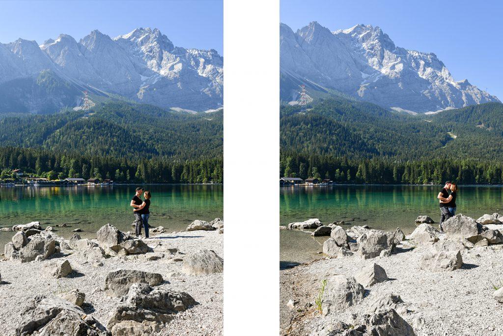 Fotograf Garmisch Partenkirchen Fotoshooting Eibsee