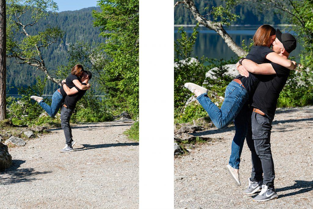 Fotoshooting Eibsee Fotograf Garmisch Partenkirchen